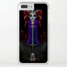 The Goblin Queen Clear iPhone Case