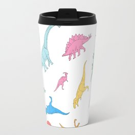 Dino Doodles Travel Mug
