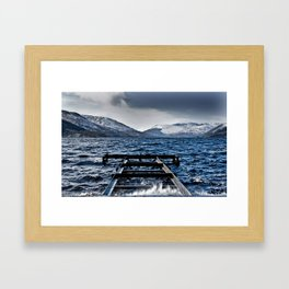 The Loch Framed Art Print