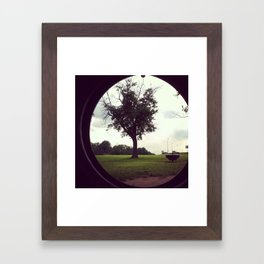 through my eyes Framed Art Print