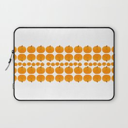 Pumpkin Pattern | Rustic Laptop Sleeve