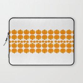 Pumpkin Pattern | Rustic Laptop Sleeve