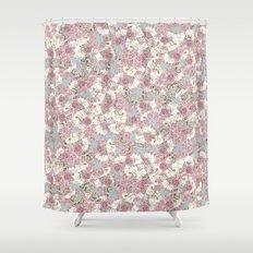 Rosas Shower Curtain