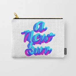 A new sun typography 3d M83 Carry-All Pouch