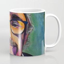 Portrait of the Artist Smirking Coffee Mug