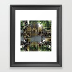 / than the confirmation that another can see, too. Framed Art Print
