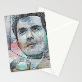 John Mayer - A Face To Call Home Stationery Cards