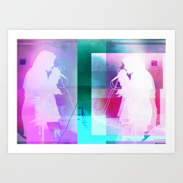 Alice Glass | Project L0̷SS   Art Print