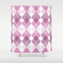 karo (rose) Shower Curtain