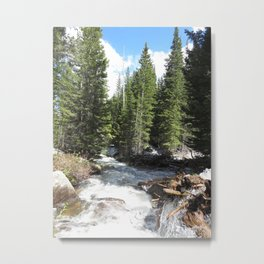 Outbound Metal Print