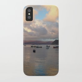 Portree Harbour iPhone Case