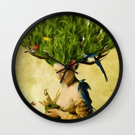 Safe Haven Wall Clock