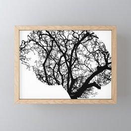 Brain Tree Framed Mini Art Print