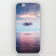 Pastel sea iPhone Skin