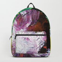 Sweet or Sour // abstract painting Backpack