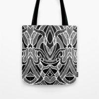 fleur de lis Tote Bags featuring Fleur De Lis by ArtLovePassion