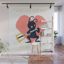 You are the key to my heart Wall Mural