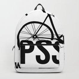 Road Bike Gift Backpack