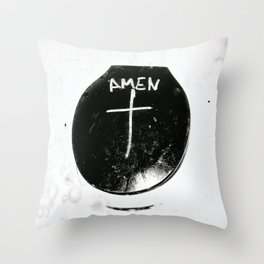 AMEN - PURITY EDITION Throw Pillow