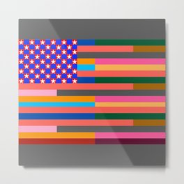 Flag of Some Other States of America Metal Print