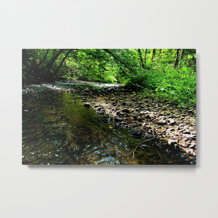 Elvish River Metal Print