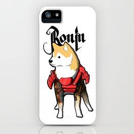 Ronin Dog iPhone Case