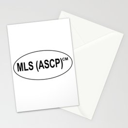 MLS (ASCP)CM Certification Stationery Cards