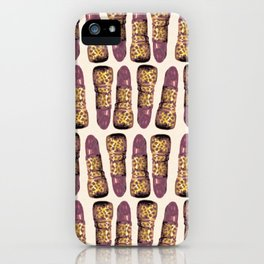 Jaguar Print Lipstick iPhone Case