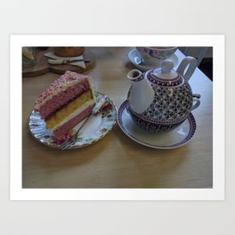Afternoon Tea in Arbroath Art Print