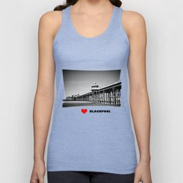North Pier Blackpool Unisex Tank Top