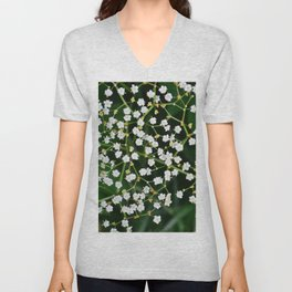 Baby's Breath Unisex V-Neck
