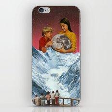 We captured the moon. iPhone & iPod Skin