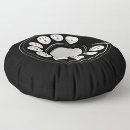 Rotary Me Floor Pillow