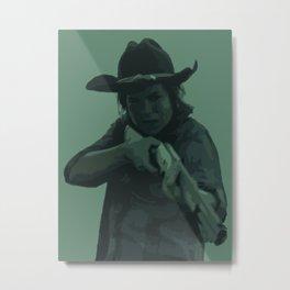 Carl Grimes THE WALKING DEAD Metal Print