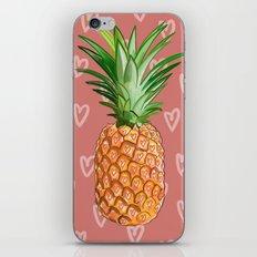 Ananas Love Fruit iPhone & iPod Skin