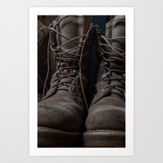 Military Mark Art Print
