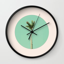 The Palm Life Wall Clock