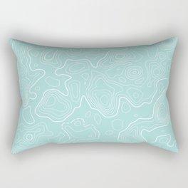 Topographic Map 01 Rectangular Pillow