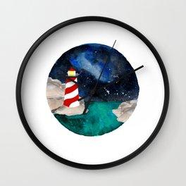 Lighthouse Keeper Wall Clock