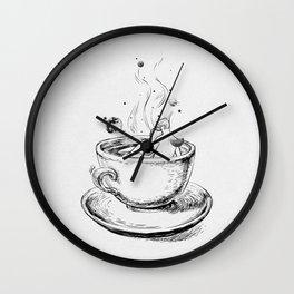Heaven cup. Wall Clock