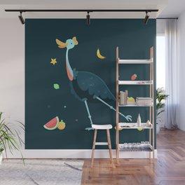 cassowary Wall Mural