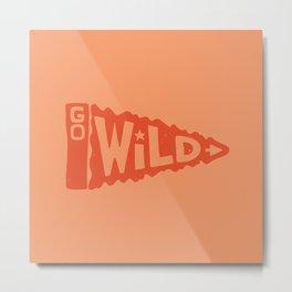 GO W/LD Metal Print