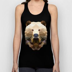 Polygon Heroes - The Bear Unisex Tank Top