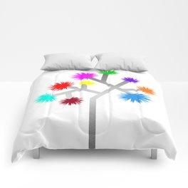 Joshua Tree Pom Poms by CREYES Comforters