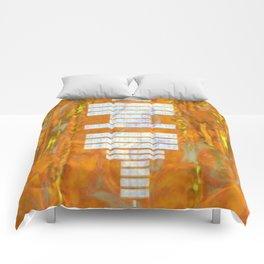 DISTORTED P O W E R Comforters