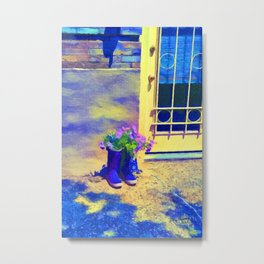 A Better Planter Metal Print