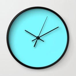 Electric Blue Wall Clock