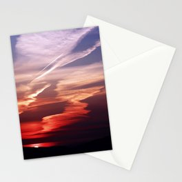 Sunset Dance Stationery Cards