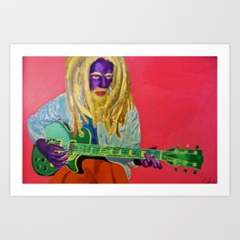 Icon Portrait Art Print