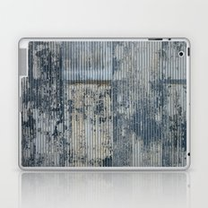 Warehouse District -- Vintage Industrial Farm Chic Abstract Laptop & iPad Skin